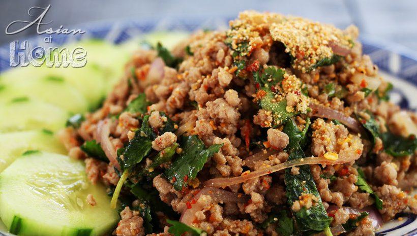 タイ料理】本格ラープガイの作り方 \u2013 Asian Food Recipe